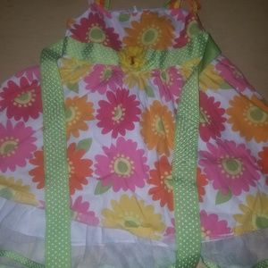 Toddlers flower dress